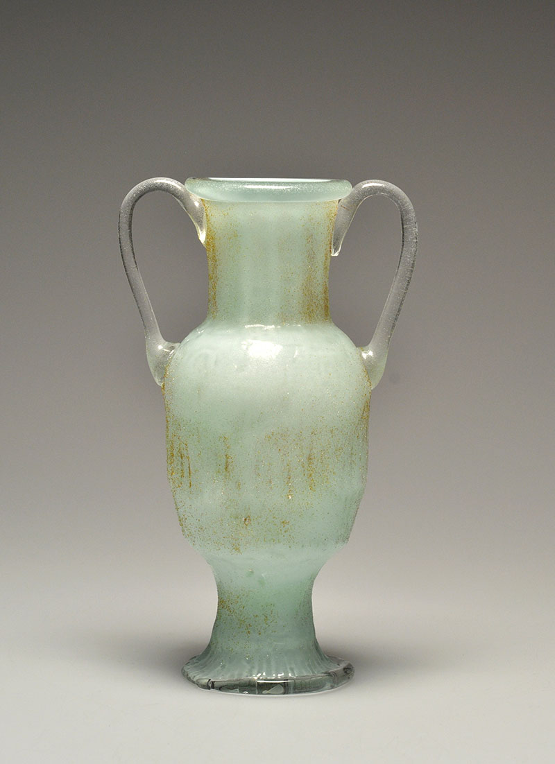 Light Green Ennion-like Vessel with Handles